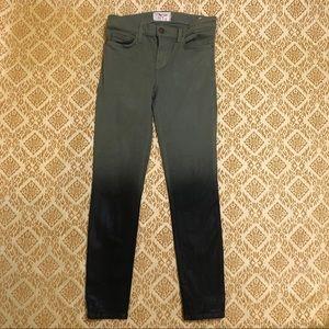 Current Elliott coated skinny jeans